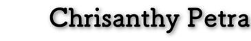 chrisanthypetra